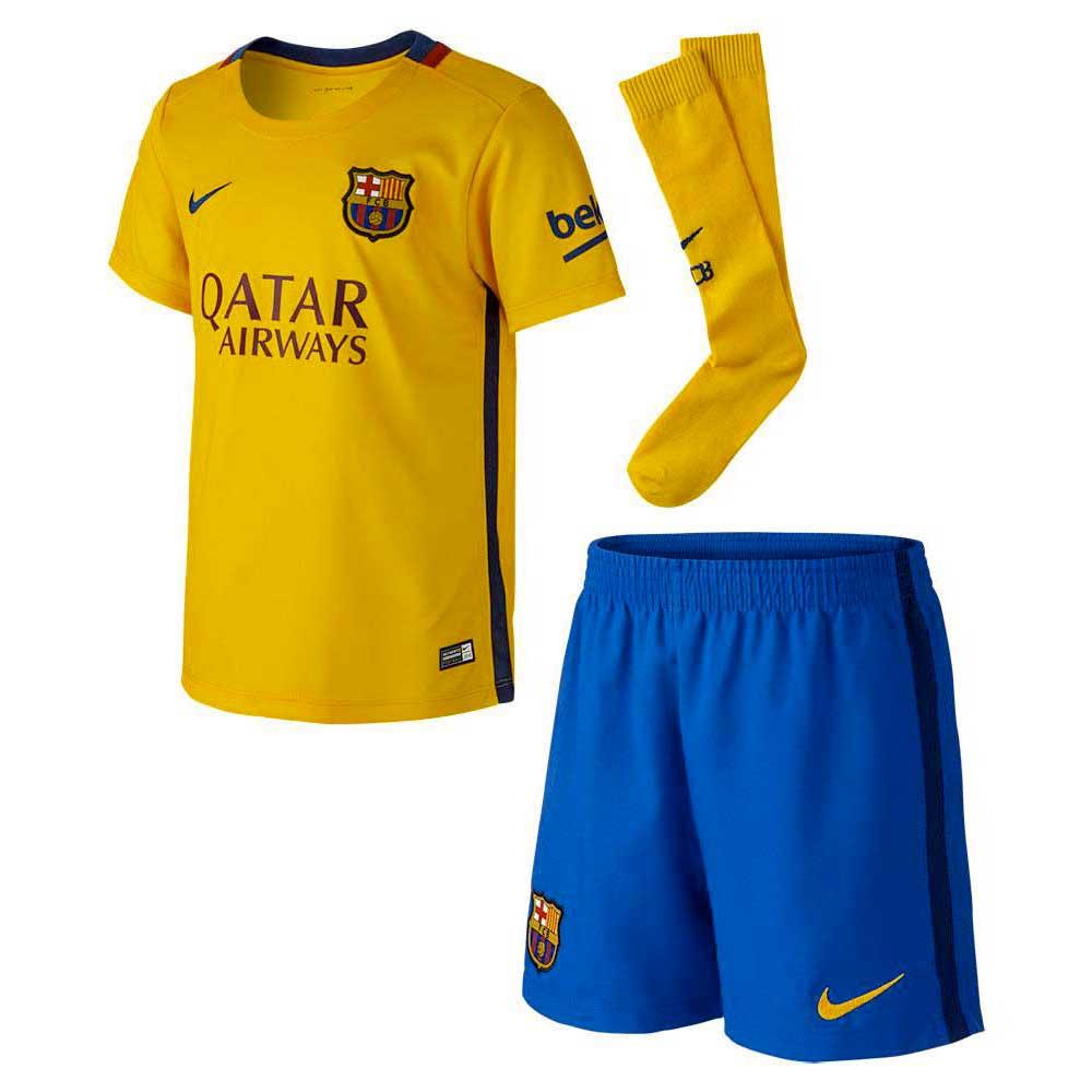 new design sleek various styles Nike FC Barcelona Away Kit 15/16 Junior
