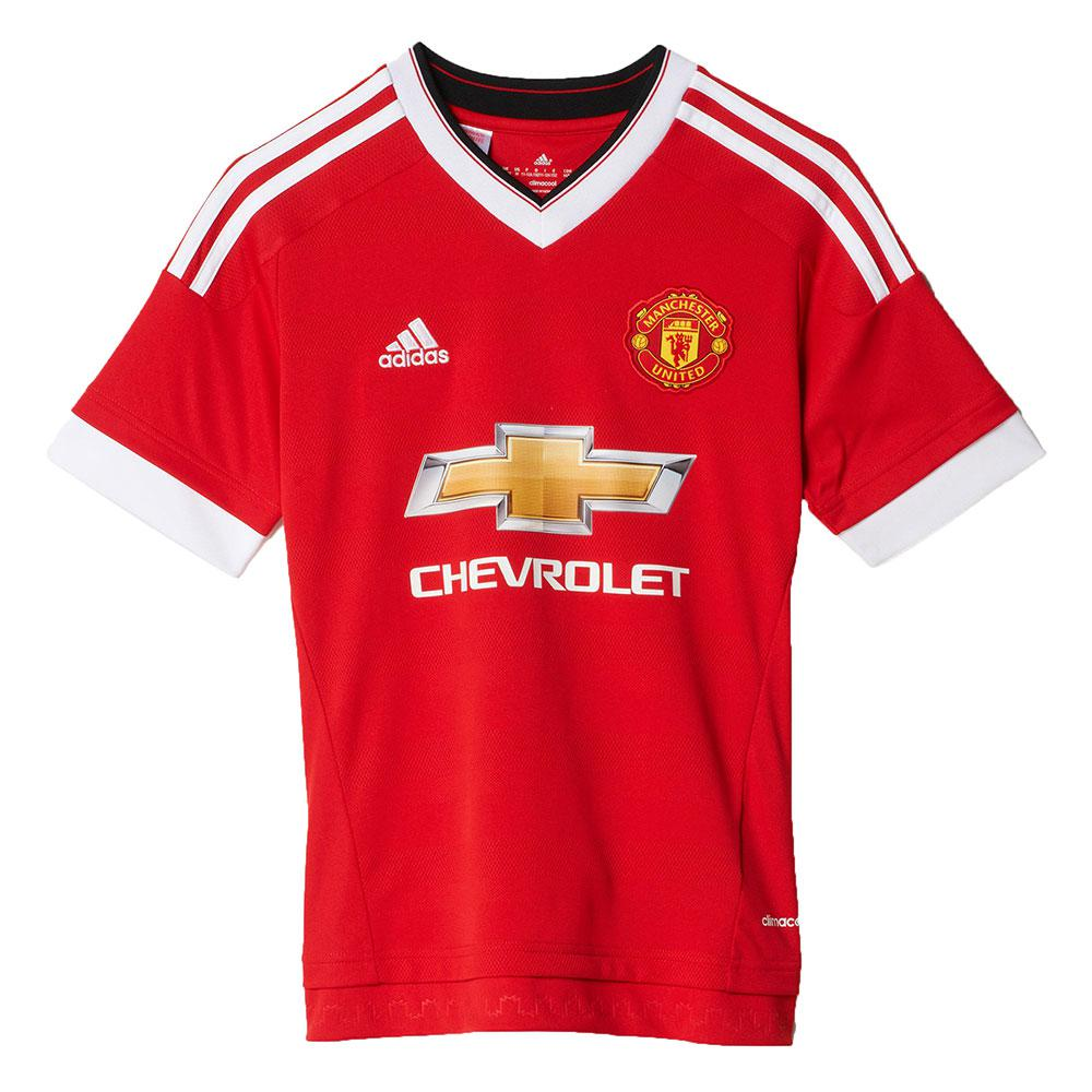 Adidas Manchester United Fc Home 15 16 Junior Red Kidinn
