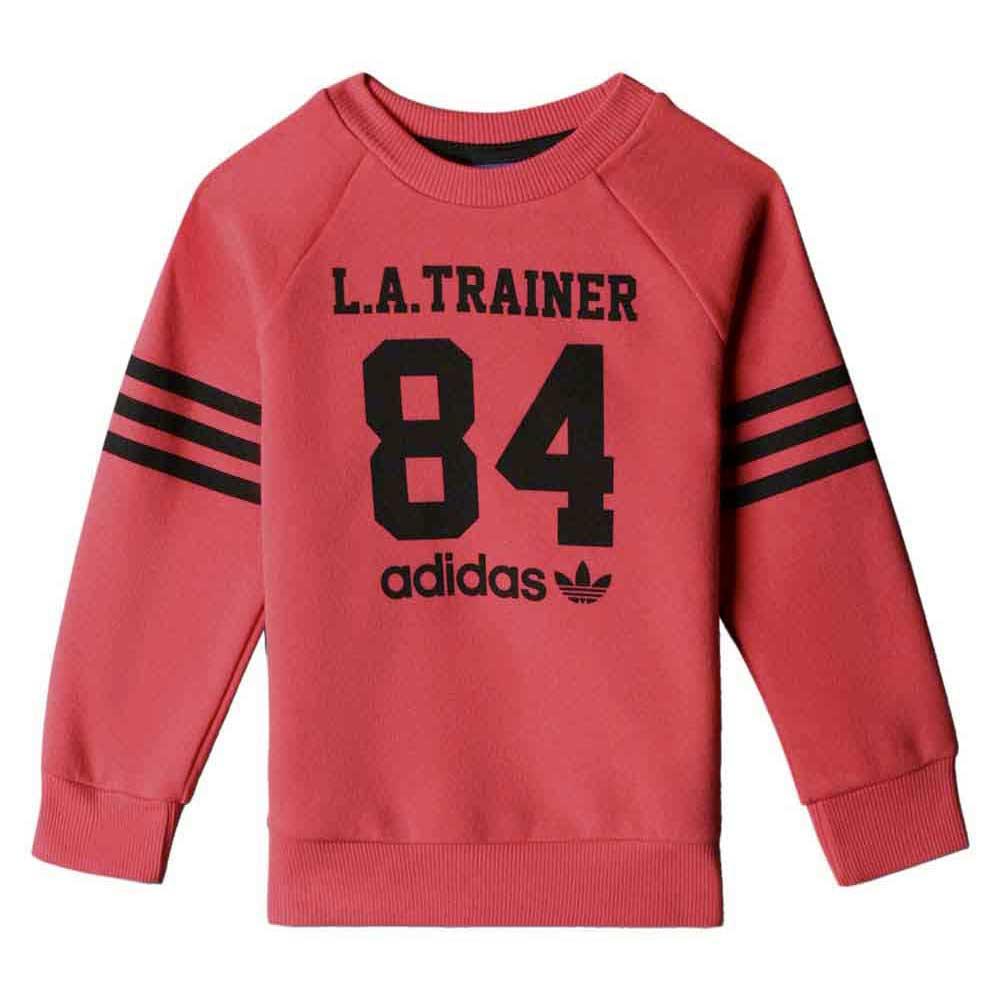 4cb3f5c373a adidas originals I Le Crewpants Rød kjøp og tilbud, Kidinn