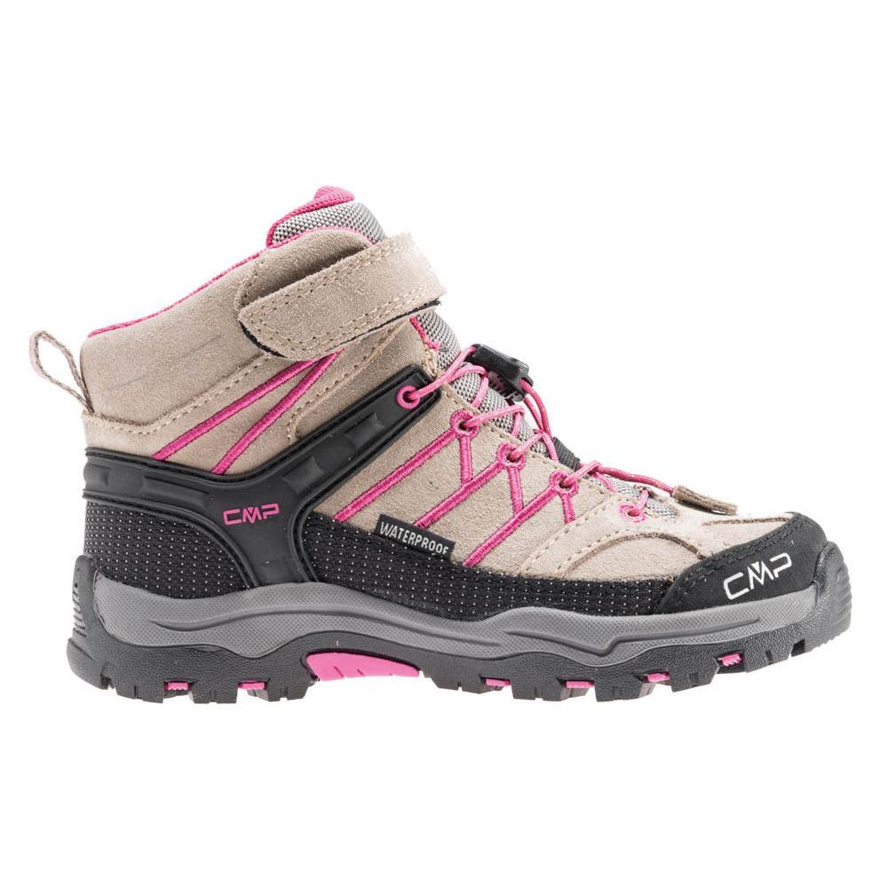 964b78883f4 Cmp Kids Rigel Mid Trekking Shoes Wp Sort køb og tilbud, Kidinn