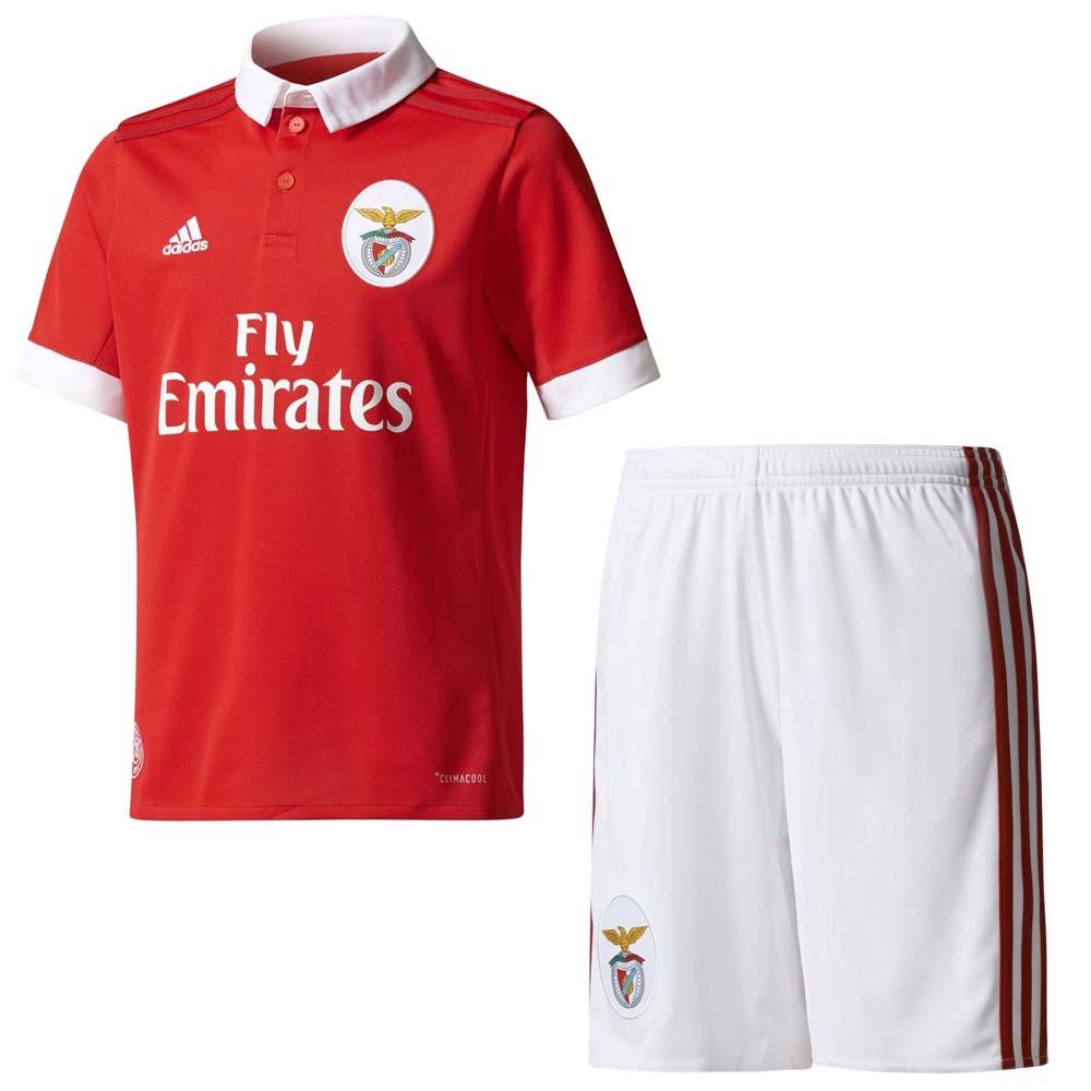 new arrivals a781b 46797 adidas SL Benfica Home SMU Kit 17/18