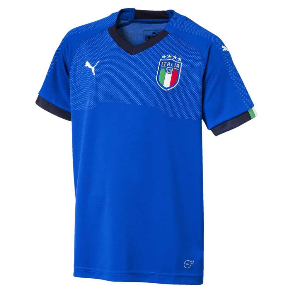 2fe7f158cb3a Puma FIGC Italia Home Replica Jersey 18 20 Blå