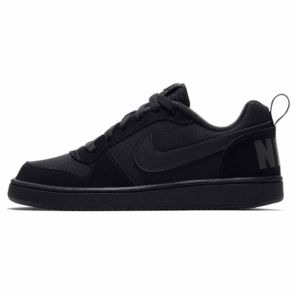 estilo exquisito desigual en el rendimiento costo moderado Nike Court Borough Low GS Black buy and offers on Kidinn