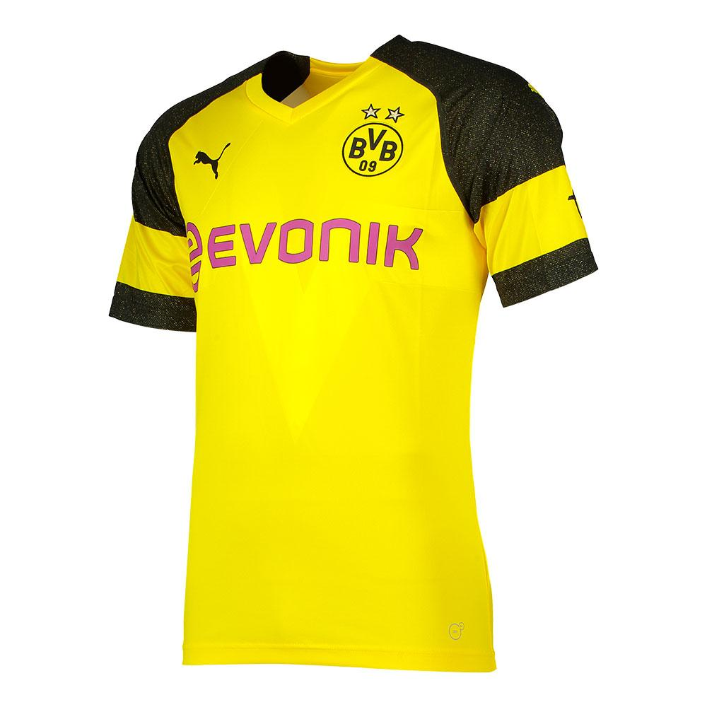 Puma Borussia Dortmund Home 18 19 Junior Yellow Kidinn