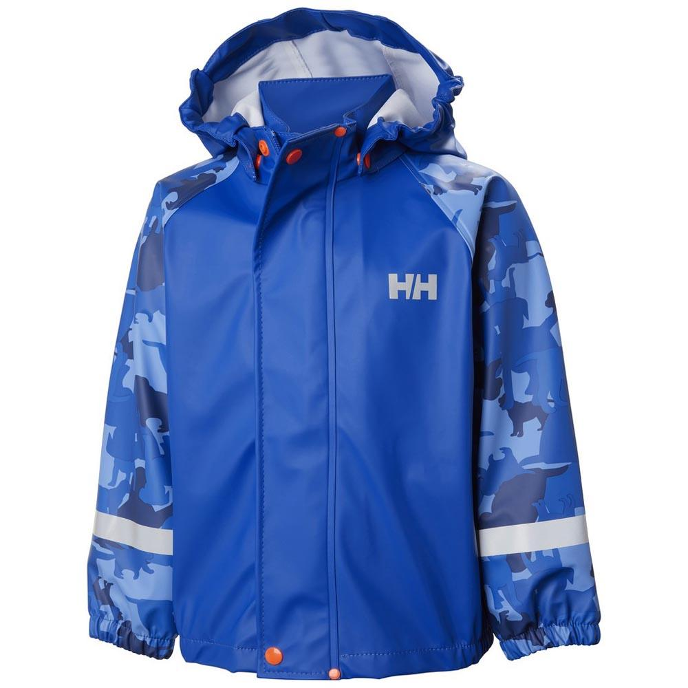 b40c8282 Helly hansen Bergen Aop Pu Rainset Blå kjøp og tilbud, Kidinn