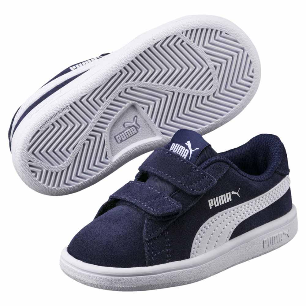 PUMA Kids Smash v2 SD Velcro Sneaker