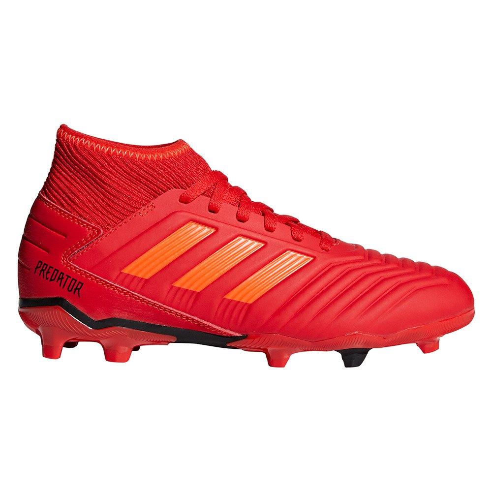 975fe3a722b adidas Predator 19.3 FG Rød køb og tilbud, Kidinn Fodboldstøvler