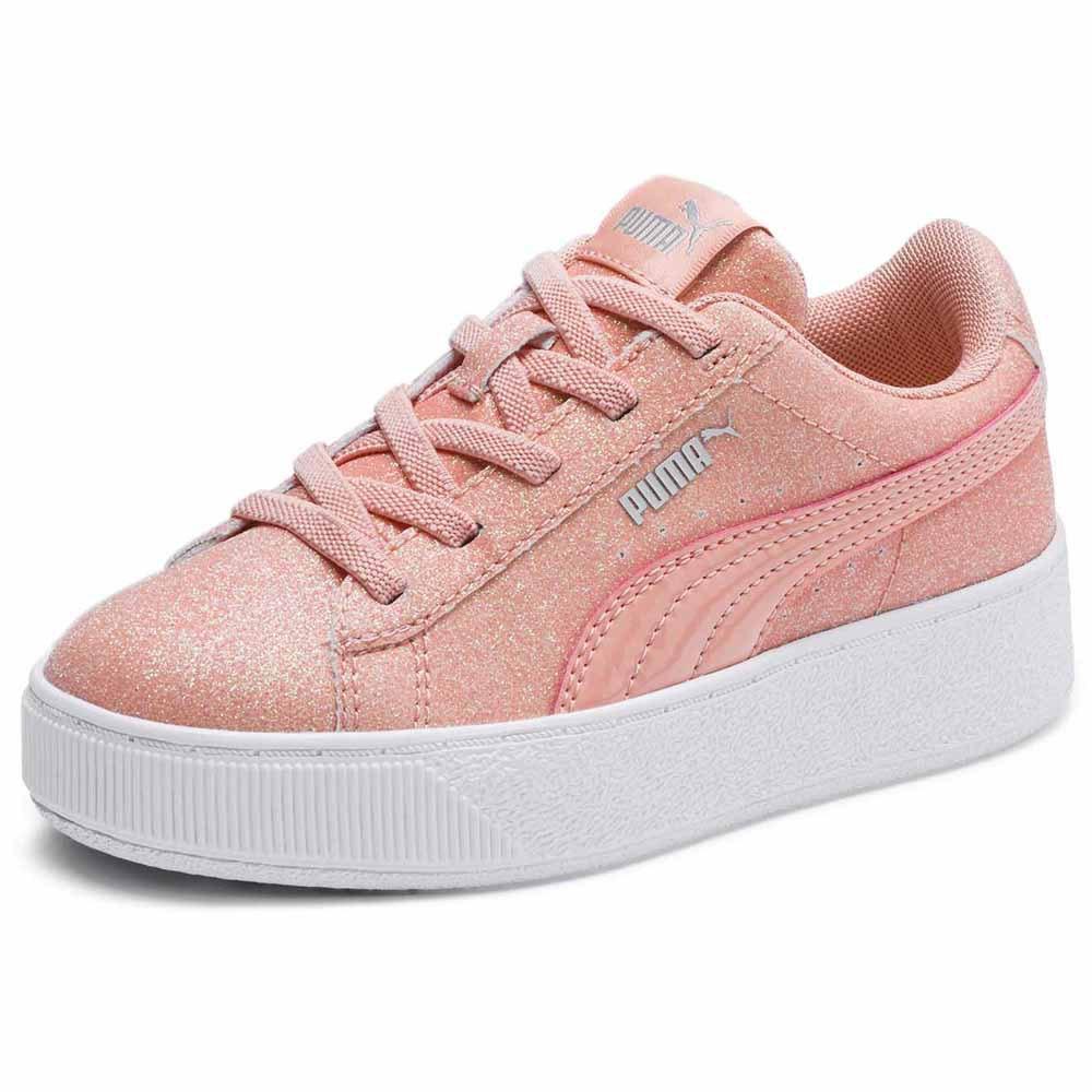 Puma Vikky Platform Glitz AC PS Pink