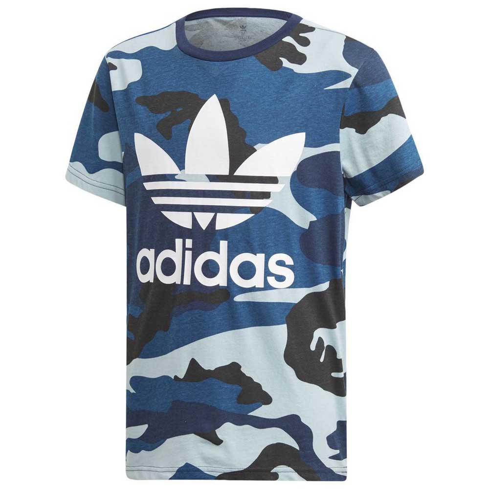 adidas camouflage blau