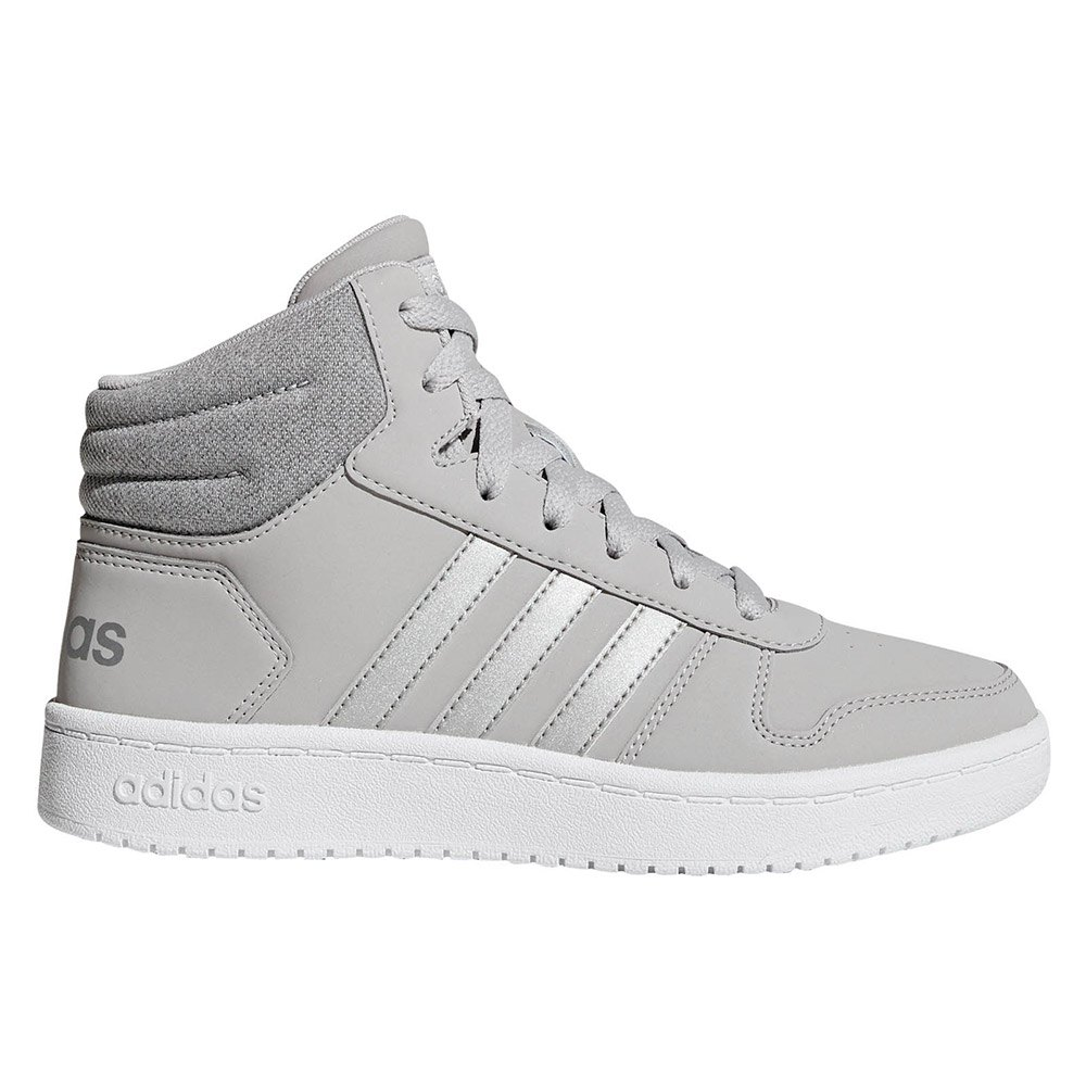 adidas Hoops 2.0 Mid Kid White buy and
