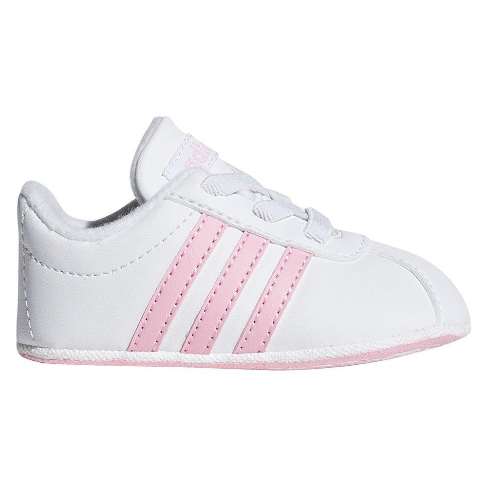 adidas VL Court 2.0 Crib White buy and
