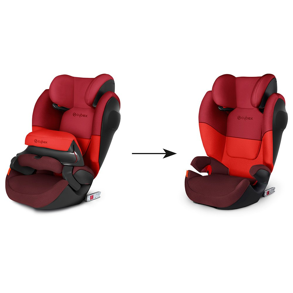 cybex pallas m fix sl red buy and offers on kidinn. Black Bedroom Furniture Sets. Home Design Ideas