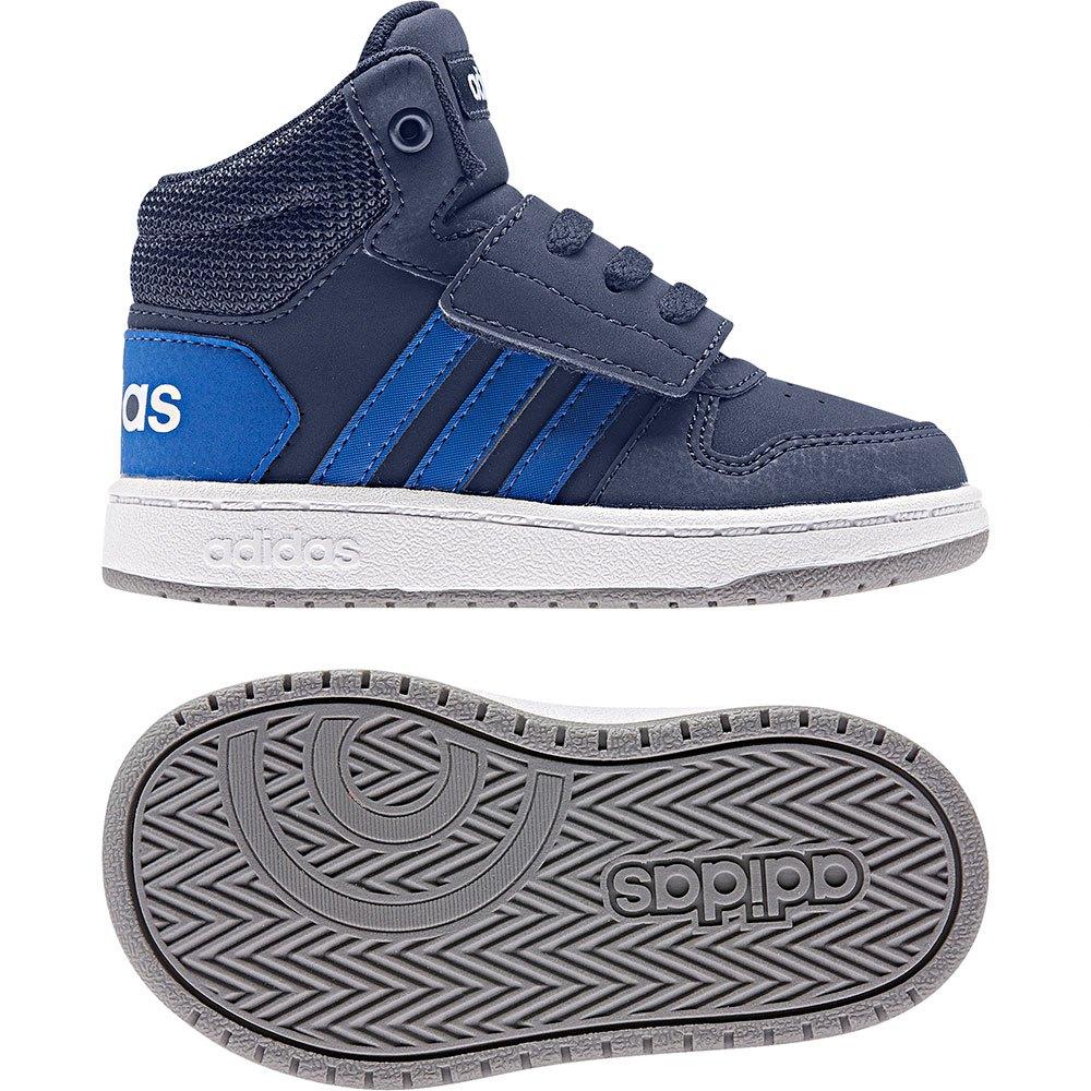 adidas Hoops Mid 2.0 Infant Blue buy