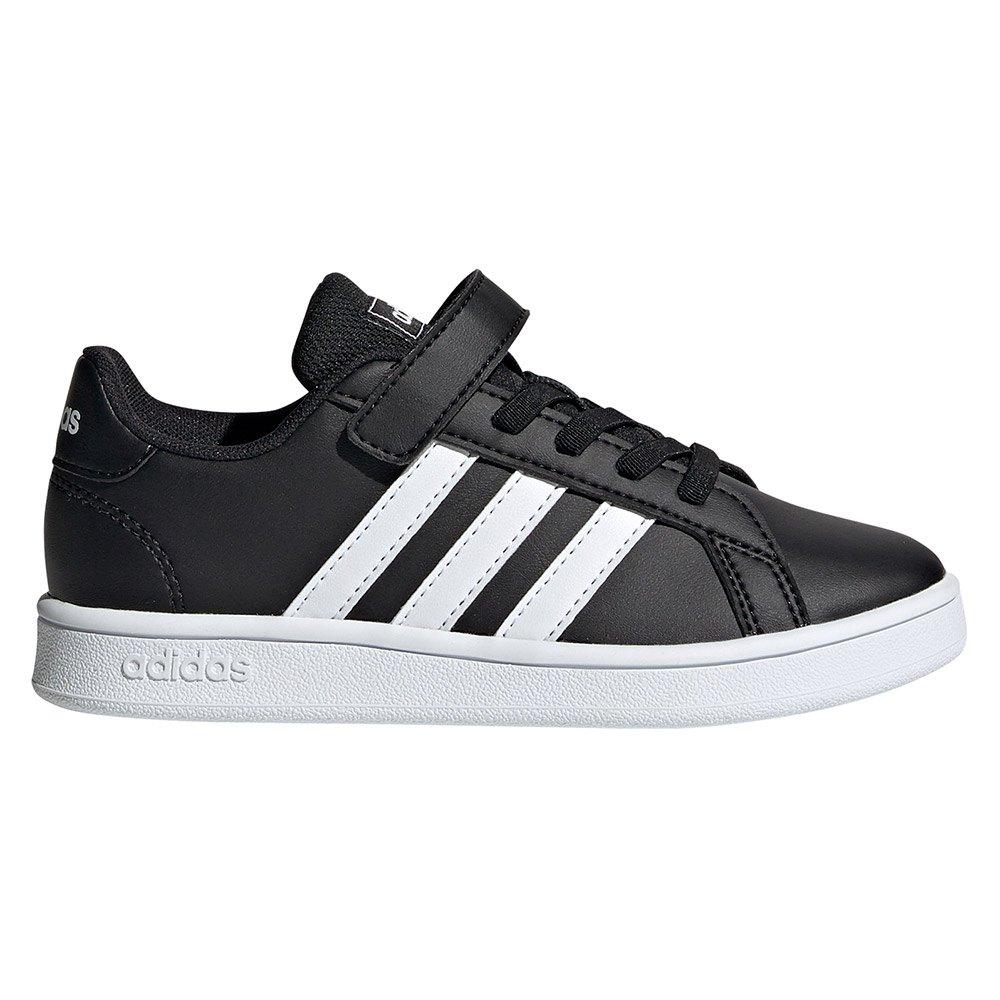 adidas Grand Court Velcro Trainers Child