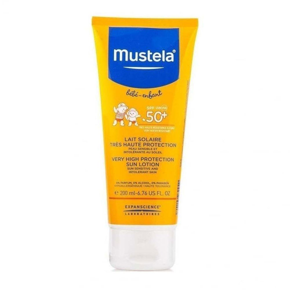 Mustela Baby Very High Sun Lotion SPF50+ 200ml