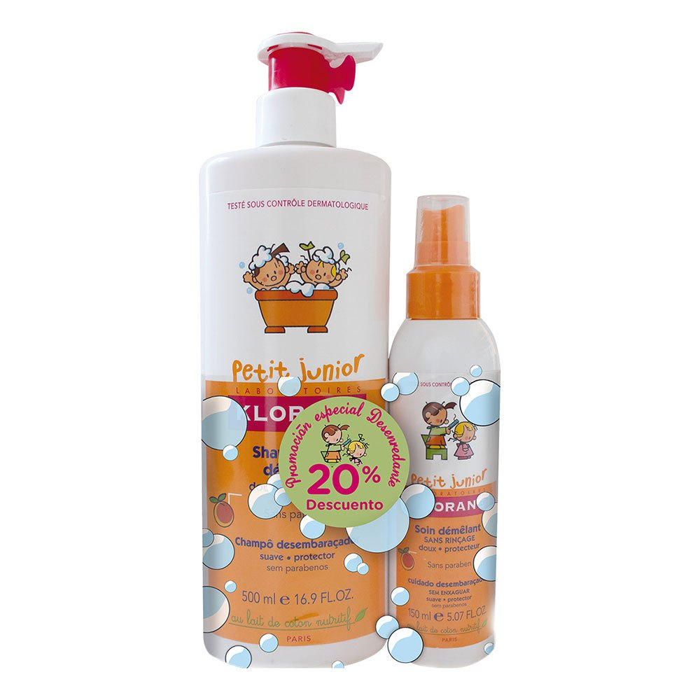 Klorane Junior Pack Shampoo 500ml+Spray