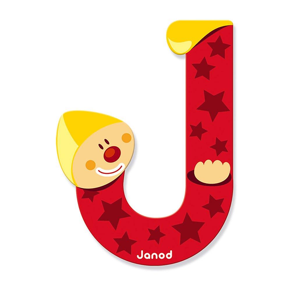 Oslikaj slova  azbuke - Page 23 Janod-clown-letter-j