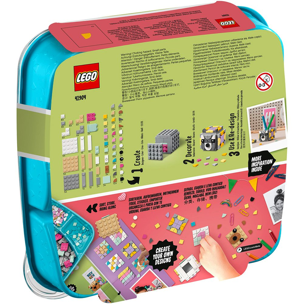 Lego Dots 20 Animal Picture Holders Multicolor, Kidinn