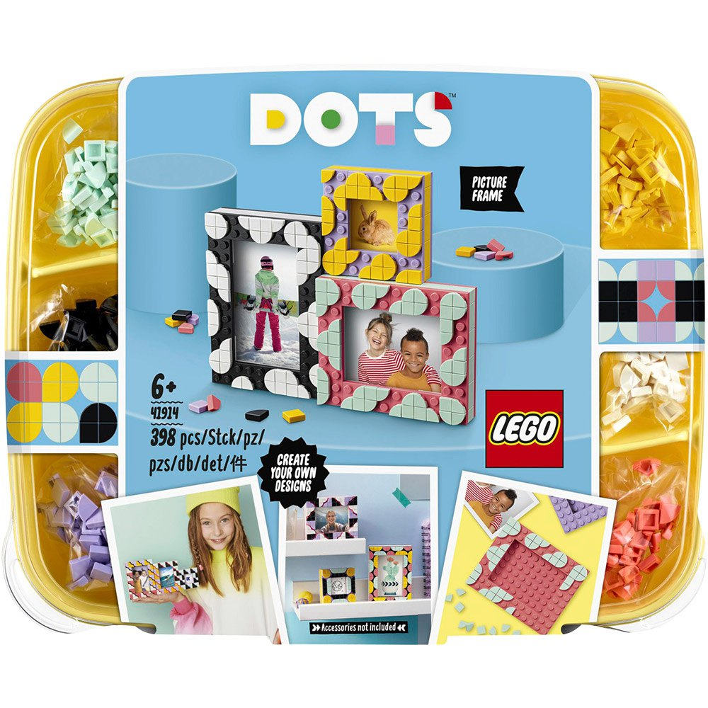 Lego Dots 20 Creative Picture Frames Multicolor, Kidinn