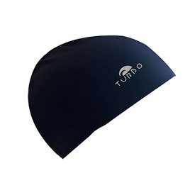 Turbo Navy Lycra Cap With Narrow Rubber Junior