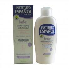 Instituto español fragrances Bebe Body Oil Soft And Sensitive Skin Without Allergens 150ml