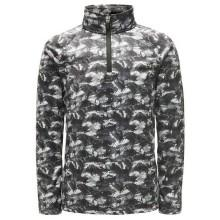 Spyder Mini Limitless Bug Camo Zip T Neck