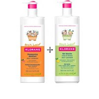 Klorane Junior Pack Shampoo 500ml+Shower Gel 500ml