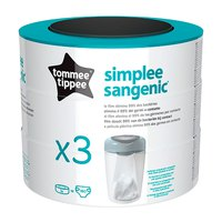 Tommee tippee Simplee Sangenic 3 units