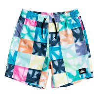 Quiksilver Dye Check Volley Youth 15