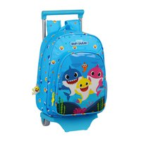 Safta Baby Shark With Trolley 11L
