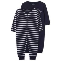 Name it Night Suit Zip 2 Pack