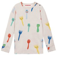 nadadelazos Crazy Forks And Spoons Long Sleeve T-Shirt