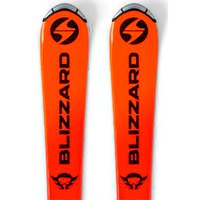 Blizzard Firebird L 110-140+FDT 7 Junior Alpine Skis
