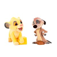 Banpresto Disney The Lion King Simba&Timon Fluffy Q Posket Set
