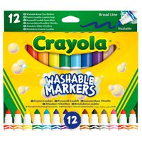 Crayola Set 12 Washable Broad Line Markers