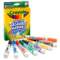 Crayola Set 8 Washable Broad Line Markers