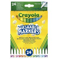 Crayola Washable Fine Line Markers 24 Pack
