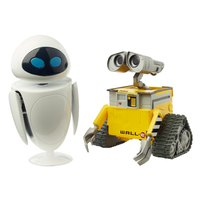 Pixar Wall-E and Eve