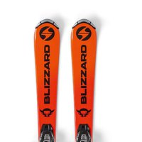 Blizzard Firebird Boy+FDT 4.5 Junior Alpine Skis