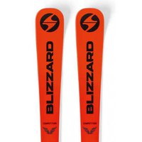 Blizzard Firebird Competition+FDT 4.5 Junior Alpine Skis