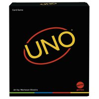 Mattel games Uno Minimalista Card Game Featuring Designer Graphics